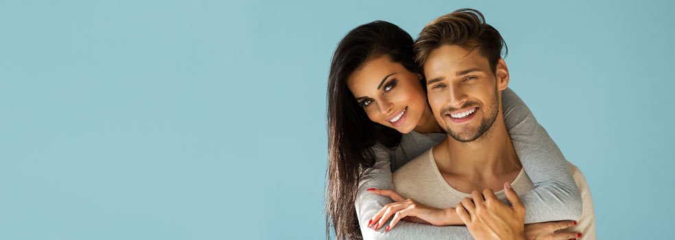 Happy tooth whitening patients of our dental practice in Chester-le-Street