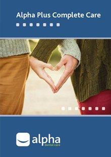 Alpha Plus Dental Plan brochure image - by Vitality Dental Care, a local dentist in Northallerton